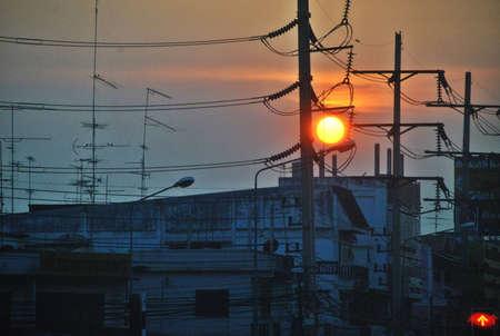sunset Stock Photo - 13251607