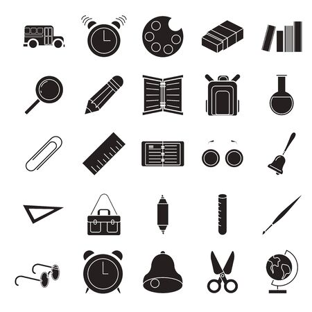 Set vector  education Icons, education icon set on white background. Zdjęcie Seryjne - 139312298