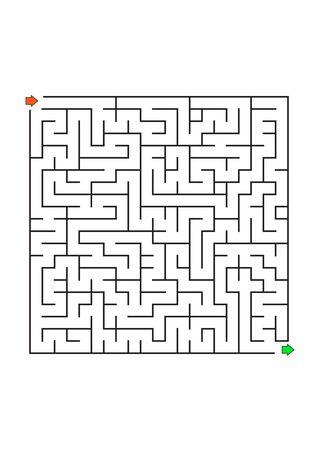 Printable Mazes for Kids. Maze games worksheet for children. worksheet for education.Games for Homeschooling