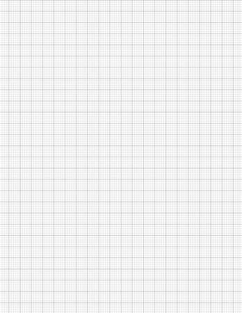 GRAPH 5x5 per 1 cm. Graph Paper  . Quad Ruled. Grid Paper for Composition for School,College students, math, science, engineering , Journal , daily graph , Drawing and Graphing  size 8.5 x 11 inch. GR Stock Illustratie
