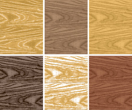 Seamless vector non-traced wooden patterns