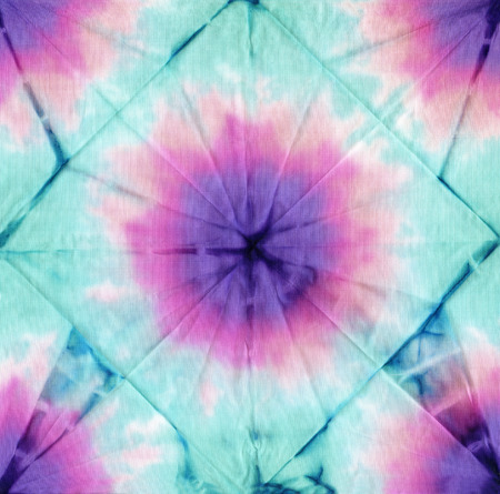 dye colors:  tie dye fabric texture background
