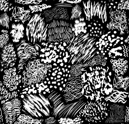 paintbrush spray: pattern consisting of hand-drawn brush strokes, blots, stripes and stains