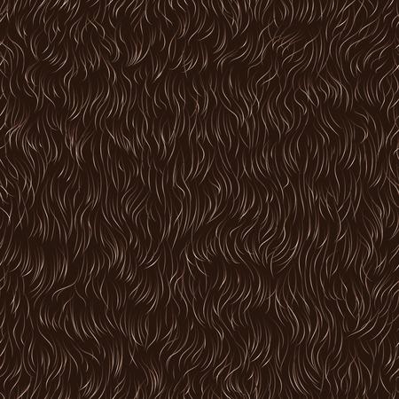 동물의 모피의 벡터 원활한 패턴