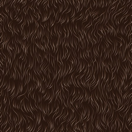 Vector seamless pattern of animal fur