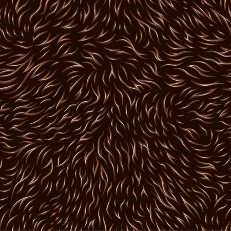 engraved seamless pattern of fur texture