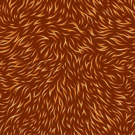 gegraveerd naadloze patroon van de vacht textuur