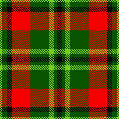 christmas plaid: High detailed tartan plaid. Seamless vector pattern Illustration