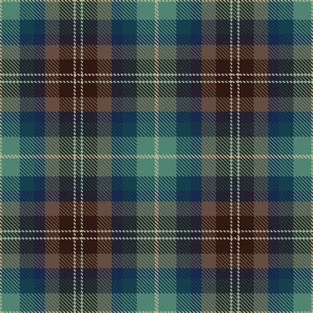 clan: Textured tartan plaid. Seamless vector pattern