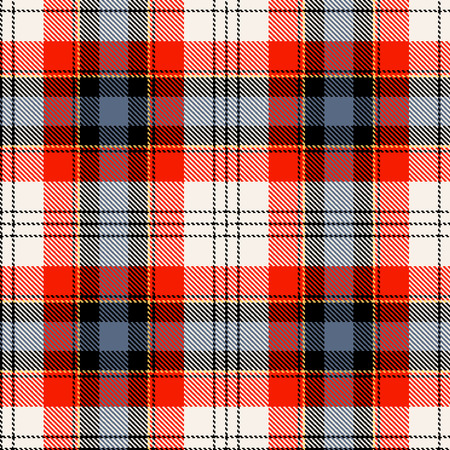 tartan plaid: Textured tartan plaid. Seamless vector pattern
