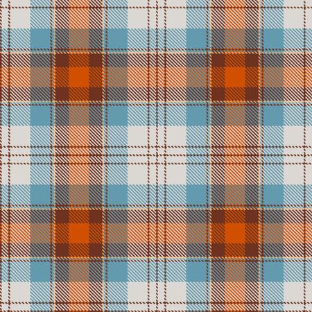 Textured tartan plaid. Seamless pattern Vector