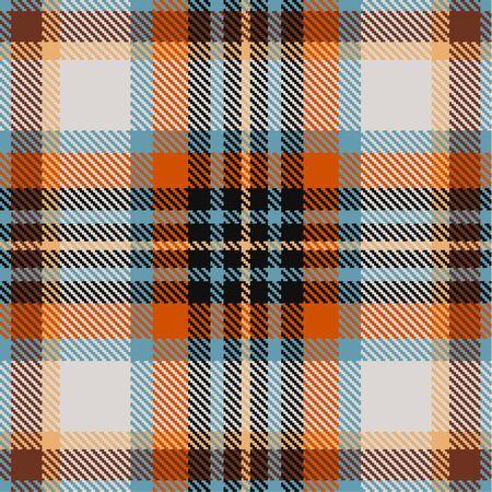 tartan plaid: Textured tartan plaid. Seamless pattern Illustration