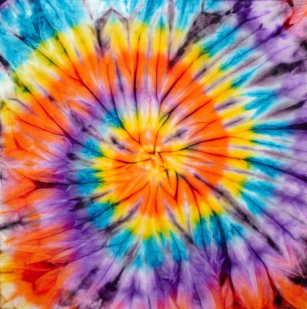 fabric painting: Abstract tie dyed fabric background