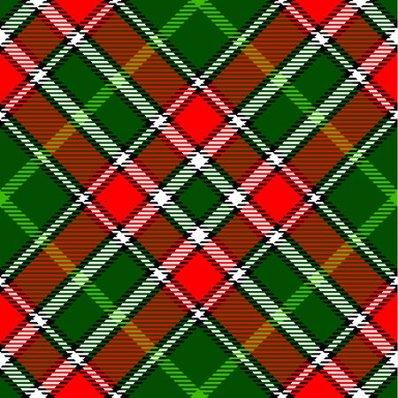 madras: Textured tartan plaid. Seamless vector pattern