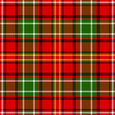 madras: Textured tartan plaid. Seamless vector pattern