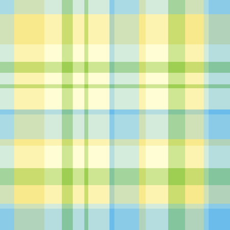 Seamless madras plaid pattern Illustration