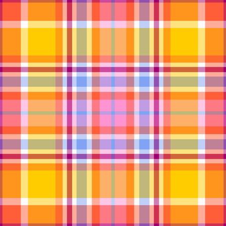 シームレスなマドラス格子縞のパターン 写真素材 - 37129256