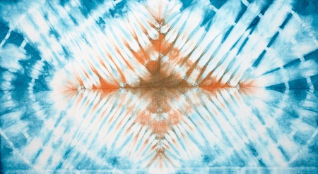 Abstract tie dyed fabric background Stock Photo - 37380355
