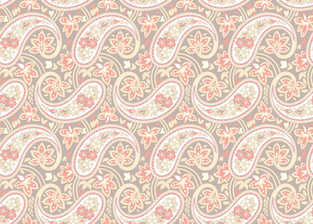 traditional pattern: Seamless pattern based on traditional Asian elements Paisley