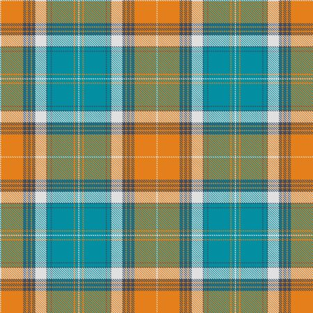 clan: Textured tartan plaid. Seamless pattern Illustration