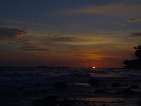 Sunset at Cabo Blanco Nature Reserve, Puntarenas, Costa Rica