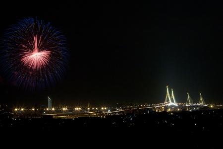 fireworks in bangkok Stock Photo - 9826788