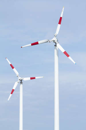 Wind turbine, Alternative energy. Stock Photo - 9958008