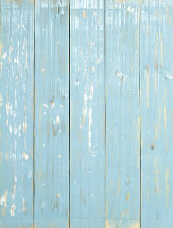 Wooden background., blue pastel and vintage style