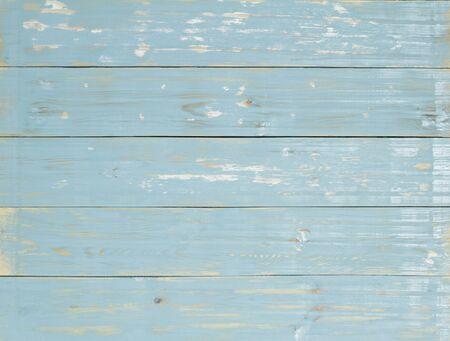 Hout achtergrond., Blauw pastel en vintage stijl.
