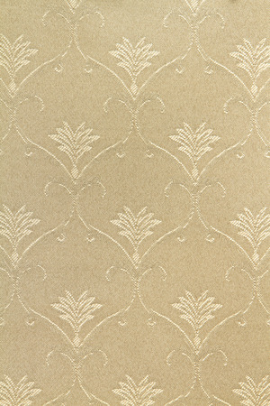 Fabric pattern with floral ornament