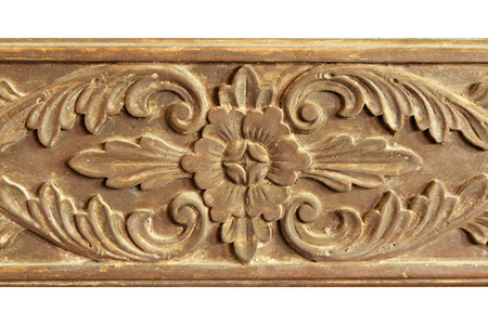 Teak wooden carving