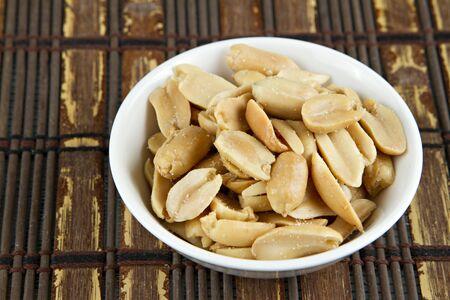 Peanuts drying