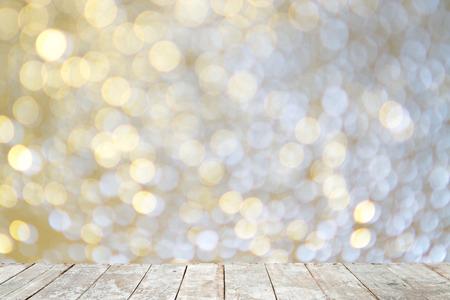 christmas backdrop: Abstract bokeh background Stock Photo