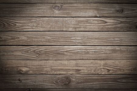 timber floor: Wooden background with vignette effect. Stock Photo