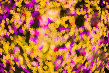abstact: Valentine abstact bokeh background Stock Photo
