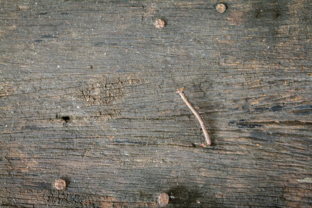 Texture of old wooden with nail background Zdjęcie Seryjne