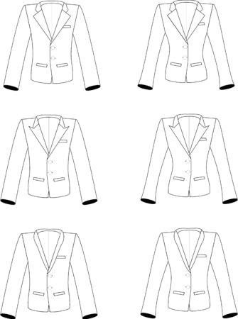 lapels: Suits