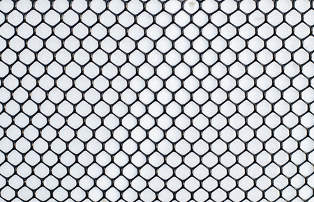 wire mesh: wire mesh with white background Stock Photo