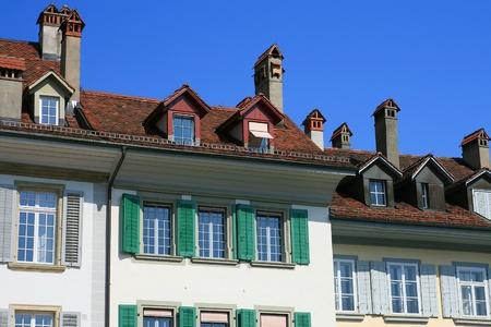 Bern unique roof