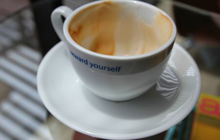 Reward yourself with a cup of coffee