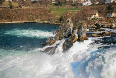 rhein: Rhine falls, Switzerland