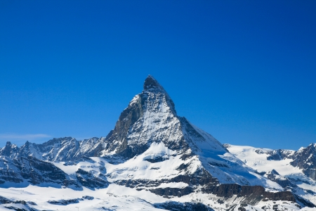 Landscape of Matterhorn peak photo