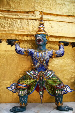 Hanuman, Ramayana monkey, statue  Stock Photo