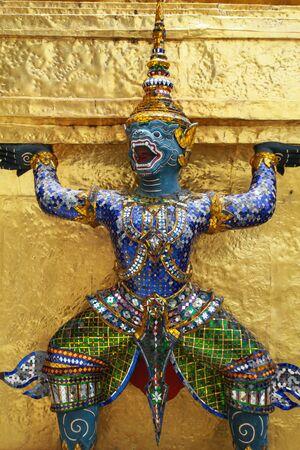 Hanuman, Ramayana monkey, statue