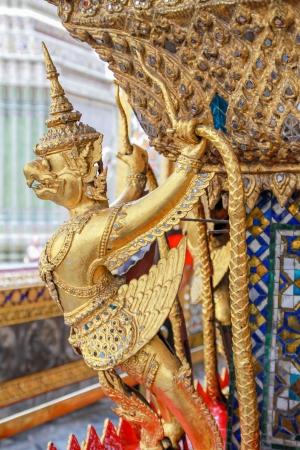 Garuda statue, the Emerald Buddha temple, Thailand