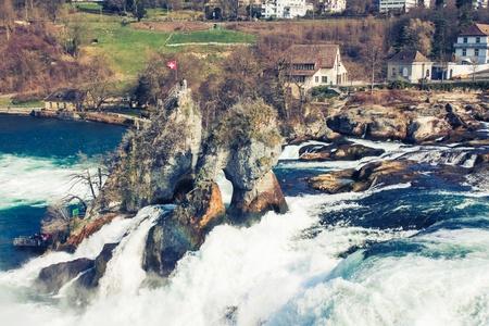Rhine falls, Schaffhausen, Switzerland Stock Photo