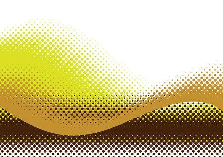 Halftoonraster achtergrond. Vector illustratie met ruimte voor tekst of logo