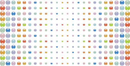 pastel tone: Abstract background from multi-coloured glass buttons. Vector illustration