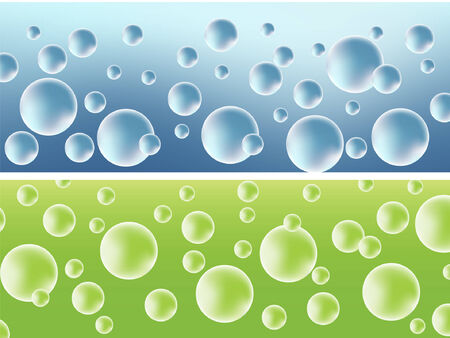 Abstract  with bubbles. Vector illustration Vector