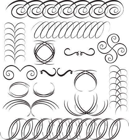 Vector design elements Stock Vector - 3650341